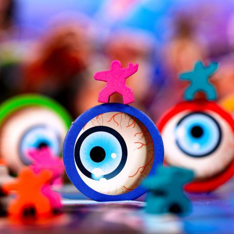 Meeple fan dansant sur les yeux de MÁRLINMANSSON -  RagnaRok Star