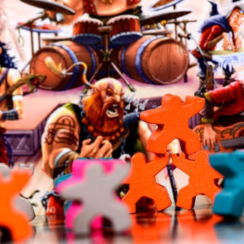 Meeple rock fan - RagnaRok Star